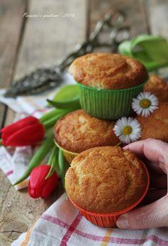 Muffins alla ricotta e bergamotto Pensieri e Pasticci