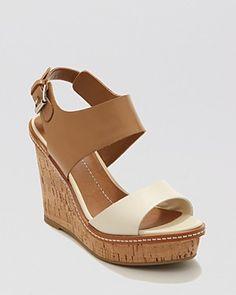 Dolce Vita Platform Wedge Sandals