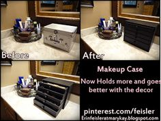 ERINFEISLERatMARYKAY: Built my own makeup box with drawers!