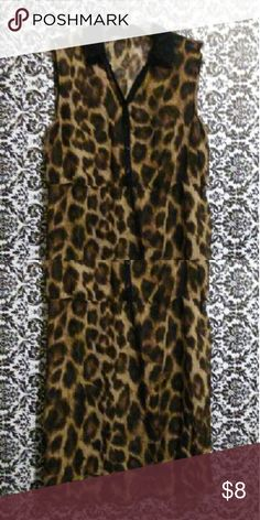 💥CLEARANCE SALE💥 This gorgeous, sheer, animal print, hi-low dress is the answer to your fashion dilemma. This little beauty is a show stopper, and creates fashion possibilities that only a true fashionista could appreciate. It looks great with virtually any bottom. Add the perfect shoe and accessory, and you are ready to exceed the fashion standard. The dress is about 36 inches from shoulder to bottom hem. Dresses High Low