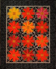 Cosmos Patch quilt pattern by Ruth Powers