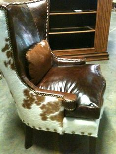 Furniture Couture Cow On Pinterest Cowhide Furniture