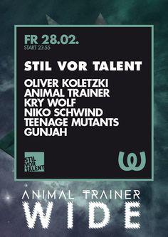 Stil Vor Talent | Watergate | Berlin | https://beatguide.me/berlin/event/watergate-stil-vor-talent-20140228
