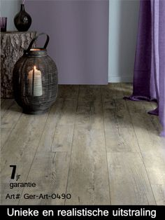 PVC vloeren - LAB21- dé uitstraling van echt hout, maar gemak van kunstof