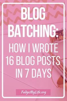 Increase your blog productivity with blog batching. Learn how to write blog content to fill your content schedule with prewritten blog batched blog posts.