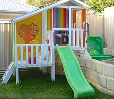 Looking For Modern Kids Cubby House DIY Kits in Australia? Check Out Our Range Of Cubbies and Kids Forts. Cubby House Kits, Kids Cubby Houses, Kids Cubbies, Play Houses, Backyard Playhouse, Build A Playhouse, Backyard Toys, Kids Yard, Backyard For Kids