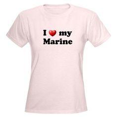 Love My Marine Women's Light T-Shirt