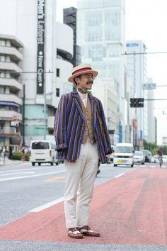 ストリートスナップ [Yoshi] | Tesi, vintage, ヴィンテージ | 原宿 | Fashionsnap.com