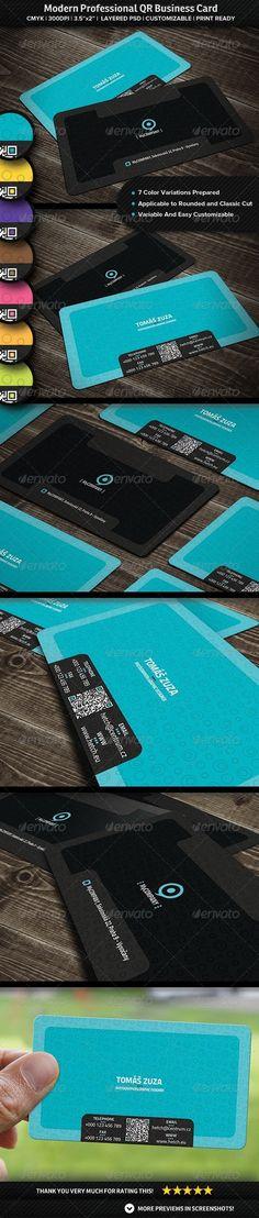 Modern  Professional QR Business Card