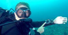 oceanic OCi wrist dive computer review shot