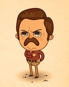 Mike Mitchell - Ron Swanson