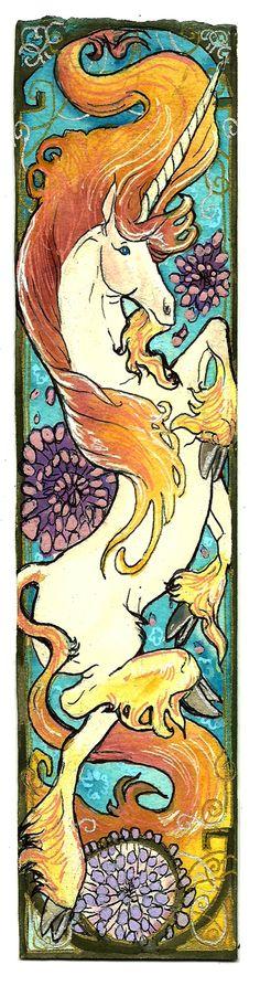 Art Nouveau Unicorn