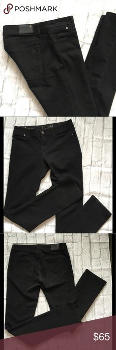 DL1961 Grace High Rise Skinny Premium Jeans Black. 4 way stretch. Like new condition. Waist 14.5 Rise 8.5 Inseam 33. DL1961 Jeans Straight Leg