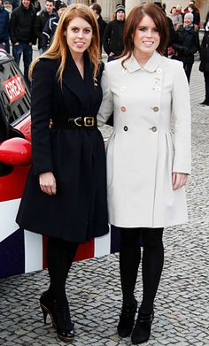 Princesses Beatrice and Eugenie