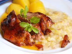 Vypadá to luxusně. Autor: Naďa I. Baked Potato, Risotto, Mashed Potatoes, Pork, Treats, Chicken, Baking, Ethnic Recipes, Whipped Potatoes
