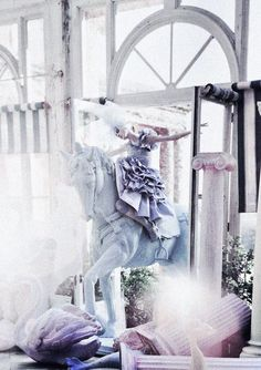 Olga Sherer by Tim Walker for Vogue Italia