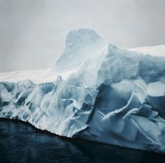A Mother's Legacy of Art, Icebergs, and Inspiration | PROOF, by Zaria Forman. Pastels.