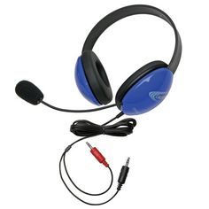 Introducing ERGOGUYS Blue Stereo Headphone w Mic Dual 35mm Plug  2800BLAV . Great Product and follow us to get more updates!