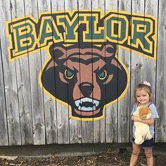 Definitely a future Baylor Bear! #SicEm