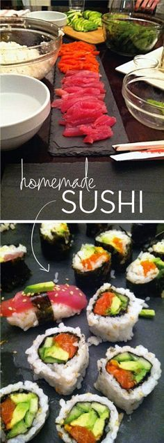 DIY Homemade Sushi