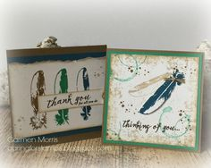 Caring for Stamps - Stampin' Up! Feather Together