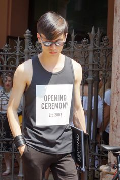 """meoutfit : meoutfit # 1369 """"OPENING CEREMONY T-SHIRT"""""""