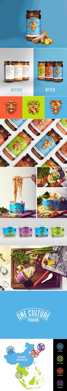 Take a Culinary Journey Around The World With One Culture Foods — The Dieline | Packaging & Branding Design & Innovation News