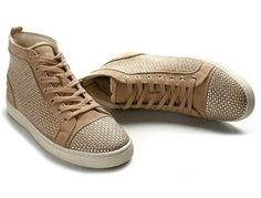 LOUBOUTIN Studded Sneakers