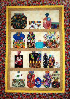 Learn How to Make Easy Bug Jar Quilt Blocks : bugs in a jar quilt pattern - Adamdwight.com