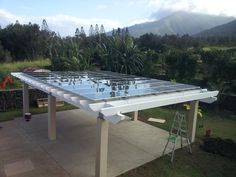 PV Pergola Project - Solar Panel Store Forum