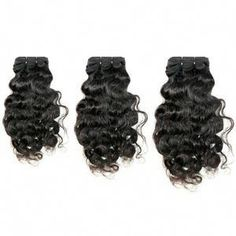 Curly Virgin Brazilian Hair Hair Type: Human Hair Weave Lengths: – Wefts: Machine Double Stitch Style: Naturally Curly Weight: 100 grams / oz Grade: RAW Coloring: Can lift to a Bundles: Each deal comes with three bundles. Indian Hairstyles, Weave Hairstyles, Teen Hairstyles, Black Hairstyles, Virgin Indian Hair, Virgin Hair, Hair Bundle Deals, Curly Hair Types, Hair Extensions Best