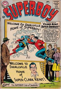 Superboy 107  September 1963 Issue  DC Comics  by ViewObscura
