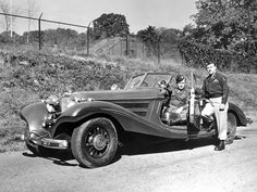 Discover the story of 'The Blue Goose', Hermann Göring's custom built Mercedes Roadster from its initial order in through its capture by US troops in 1945 to its recent re-emergence and restoration in the last few years. Military Trends, Military News, Military History, Coach Builders, Sr1, History Online, Mercedes Car, Army Vehicles, Vintage