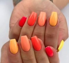 Nails Summer manicure trends and new nail polish colors to try - -. - Nails Summer manicure trends and new nail polish colors to try out – – out - Summer Acrylic Nails, Cute Acrylic Nails, Cute Nails, New Nail Polish, Nail Polish Colors, Spring Nail Colors, Spring Nails, Dipped Nails, Dream Nails