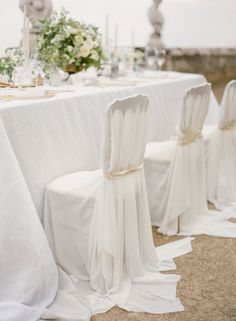 anna chair cover & wedding linens rental burnaby bc fabric garden chairs uk 89 best white weddings images event planner decor inspiration style me pretty greek grecian italy