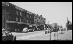 Maroubra Junction Sydney Australia      Anzac Parade heading south 1930's or '40's