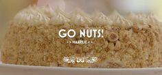 Go Nuts - Hazelnootschuimtaart