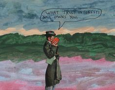 What truly interests you, owns you. – Michael Lipsey