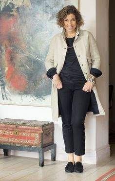 Chic Over 50, Vacation Outfits, Fashion Over 40, Casual Jeans, New Look, 50th, Winter Fashion, Street Style, Coat