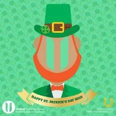 Happy St. Patrick's Day from United Services Group!  If you are going out to celebrate the Luck of the Irish, please be responsible!  #StPatricksDay #StPatricksDay2015 #StPattys #Irish