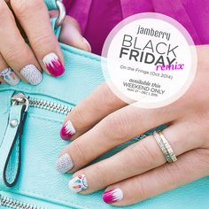 October 2014 | Limited edition wraps available this weekend only !! Shop all Black Friday Remix deals at www.brandymartin.jamberry.com