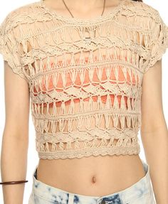 Love this sweater for over a cami - full length of course. (Broomstick Lace)