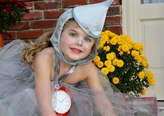 Tin Man Tutu Costume for Girls