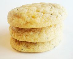 Mels Kitchen Cafe | Lemon Poppy Seed Sugar Cookies