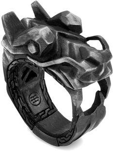 John Hardy Naga Dragon Head Ring