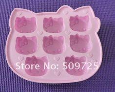 Forma de Gelo Hello Kitty