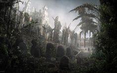 Epic Dark Fantasy Wallpaper For Windows #ikG Fantasy landscape Landscape wallpaper Fantasy castle