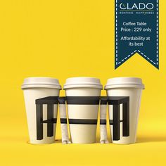 Rent a sturdy and simple tea & coffee table for your living room space for just INR 229. http://www.clado.in/furniture #furniture #CLADO #offer