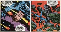 Mister Fantastic, lost to the Negative Zone, Fantastic Four #62 Art: Jack Kirby