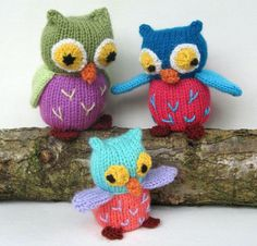 These Knitted Owls Patterns Pinterest Top Pins are perfect for your next project and we've rounded up the cutest ideas ever.